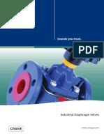 Saunders Industrial Diaphragm Valves Cono