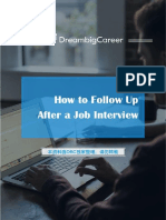 How+to+Follow+Up+After+a+Job+Interview