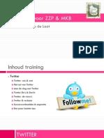 Zakelijk Twitter voor MKB en ZZP'ers door Saskia de Laat