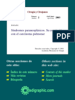 Síndromes paraneoplásicos