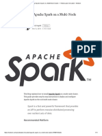 Set Up Apache Spark on a Multi-Node Cluster – Y Media Labs Innovation – Medium