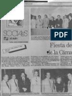 Sociales, fiesta fin de año Camara Petrolera de Venezuela - Diario El Siglo 06.01.1987