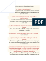 Actividad La Accion Trancurre Ahora Al Anochecer 2.
