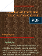 avaliacao postural