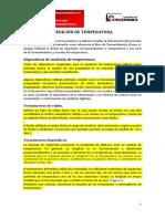 Guia de Practica - Medicion de Temperatura y Uso de Cartas Psicrometricas