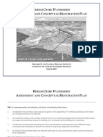 Rheem Creek Watershed - Assessment and Conceptual Restoration Plan