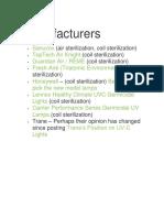 Fabricantes esterilizadores UV AA.docx