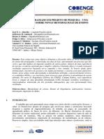 APRENDIZADO BASEADO EM PROJETO DE PESQUISA - UMA CONTRIBUIÇÃO SOBRE NOVAS METODOLOGIAS DE ENSINO.pdf