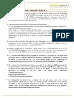 CASOS II - PRODUCTIVIDAD Y EFICIENCIA.docx
