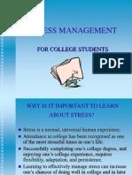 Stress Mgmt. Presentation