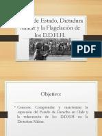 8 Clase 1 y 2 Dictadura Militar y D.D.H.H