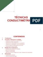 tecnicas conductimetricas