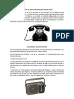 Teléfono Celular Como Medio de Comunicación Radio,