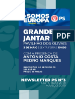Newsletter PS/Coimbra  #3