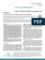 Corticosterone Response in Sleep Deprivation and Sleep Fragmentation