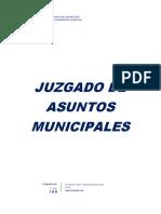 Memoria de Labores 2018 Juzgado de Asuntos Municipales