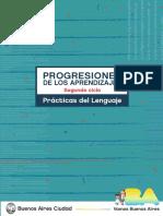 Progresiones de los Aprendizajes. Segundo ciclo. Prácticas del Lenguaje.pdf