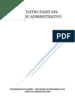 02 Las Cuatro Fases Del Proceso Administrativo