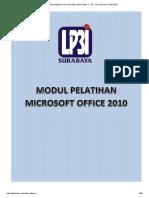 modul pelatihan microsoft office 2010 Pages 1 - 50 - Text Version _ FlipHTML5.pdf