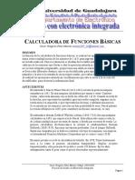 Calculadora de Funciones Basicas Oscar Gregorio Perez Macias 1