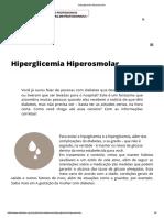 Hiperglicemia Hiperosmolar