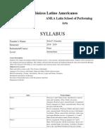 Syllabus Intermediate