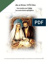 Coronilla Al Divino NIÑO Dios 2col Fuente 14