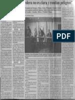 La Situacion Petrolera No Es Clara y Rondan Peligros - 1987