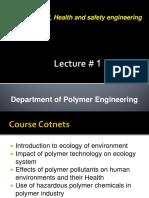 Ecosystems Lec 1