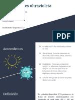 Radiaciones Ultravioleta 2