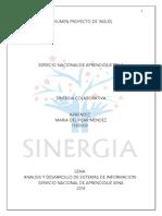 Plantilla Resumen Proyecto en Inglés