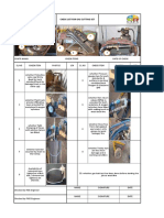 Gas Cutting Set Checklist