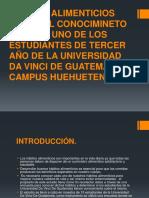 HABITOS ALIMENTICIOS SEGÚN EL CONOCIMINETO DE CADA UNO.pptx