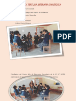 Actividad Tertulia Literaria Dialógica PE