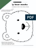 Teddy Bear Picnic Mask ideas