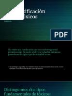 1.3. CLASIFICACION DE TOXICOS.pptx