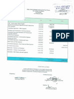 Pre-Closing Trial Balance - Trust Receipts as of 31 March 2019