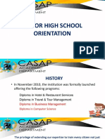 Shs Orientation 2017-2018