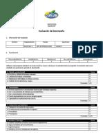 Evaluación de Desempeño ANALISTA CARGOSN