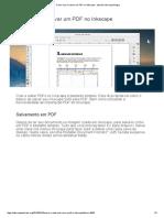 Como Criar e Salvar Um PDF No Inkscape - Tutoriais Inkscape Blogue