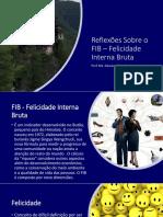 Reflexões Sobre o FIB – Felicidade Interna Bruta