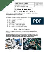 Hardware, Software y Clasificación Del Software (1)