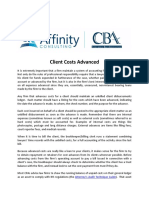 WHITEPAPER - Client Costs Advanced