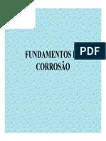 Fundamentos de Corrosão