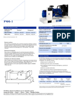 Generador Fg Wilson p44-1