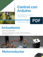 Control Con Arduino - Actuadores