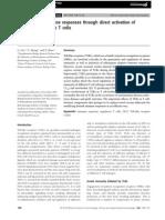 Modulation of Immune Responses Through Direct Activation Of