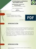Unidad 2 Administracion y tecnicas de mantenimiento