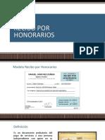 Recibo Por Honorarios ppt