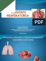 Acidosis Respiratoria 2014